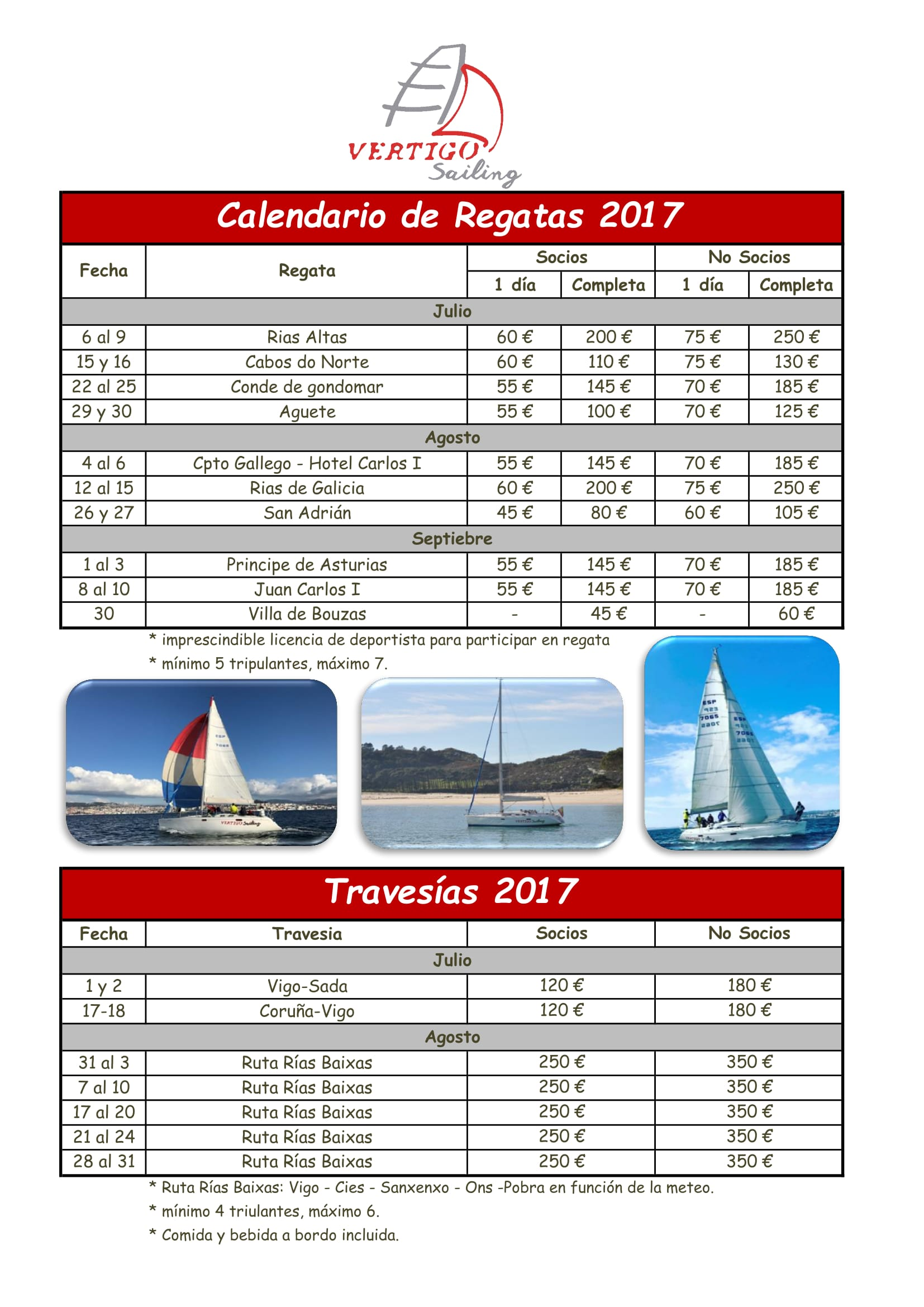 Calendario de Regatas y Travesias 2017 – Noticias Vertigo Sailing 950ad41815d